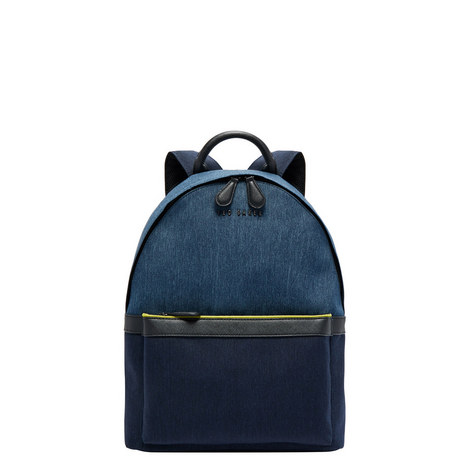 Zirabi Two-Tone Backpack, ${color}
