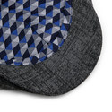 Olympic Textured Flat Cap, ${color}