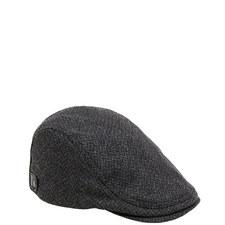Thompsn Wool Flat Cap