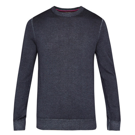 Abelone Wool Crew Neck Knit, ${color}