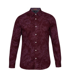 Tulls Printed Modern Fit Shirt
