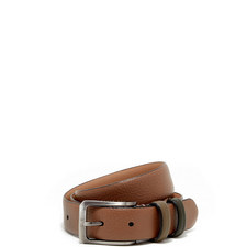 Shrubs Two-Tone Leather Belt