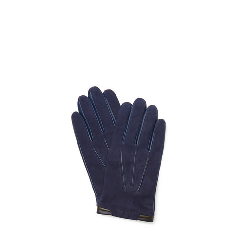 Buzzcut Leather Gloves, ${color}