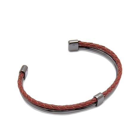 Ferrero Leather Cuff Bracelet, ${color}