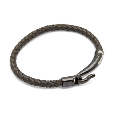 Chewer T-Clasp Leather Bracelet, ${color}