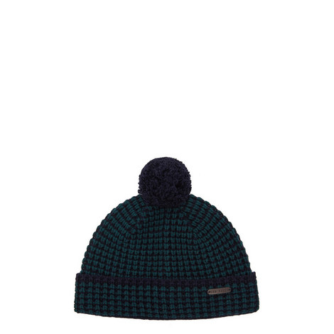 Walhat Bobble Knit Hat, ${color}