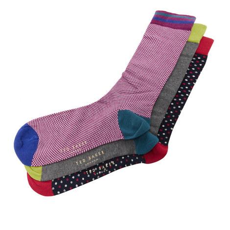 3-Pack Socks Gift Set, ${color}