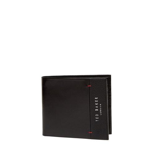 Slipper Bi-Fold Leather Wallet, ${color}