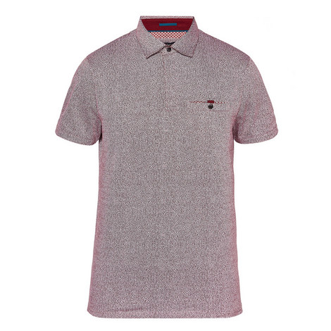 Bary Textured Polo Shirt, ${color}