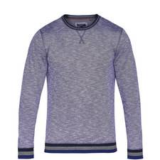 Slater Tipped Crew Neck Sweatshirt