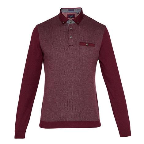 Woolpak Mouline Polo Shirt, ${color}