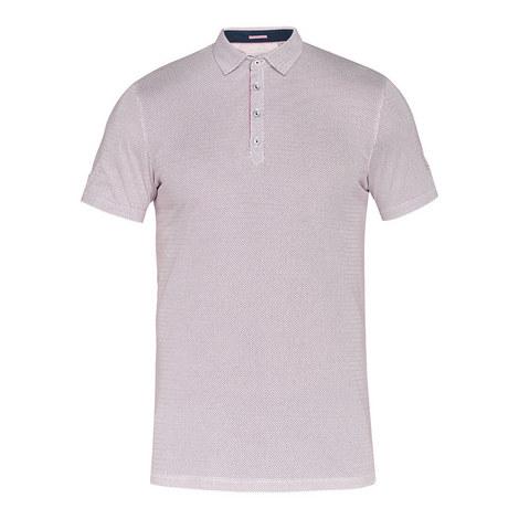 Keegs Geo-Print Polo Shirt, ${color}
