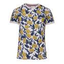 Alfiee Floral Print Crew Neck T-Shirt, ${color}