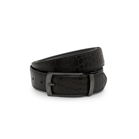 Sunflow Reversible Leather Belt, ${color}