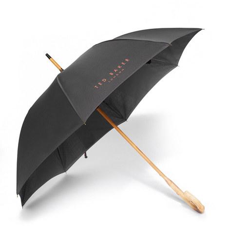 Stormer Wooden Handle Umbrella, ${color}