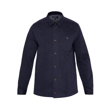 Keebord Ls Brushed Shirt, ${color}