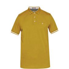Puggle Stripe Cuff Polo Shirt