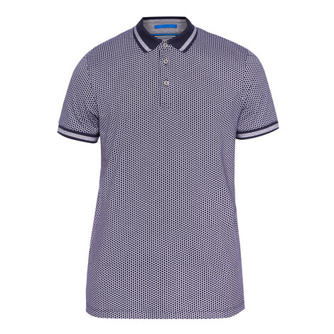 Norris Pin Dot Polo Shirt, ${color}