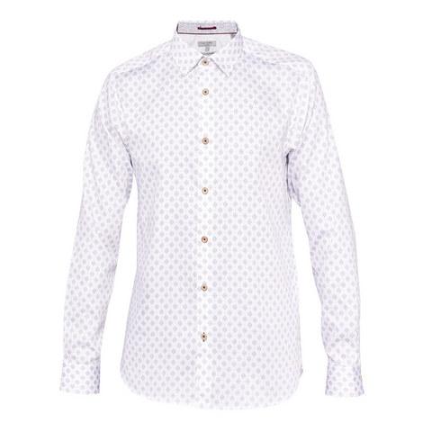 Wunderr Diamond Print Shirt, ${color}