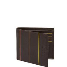 Bourbon Bi-Fold Leather Wallet
