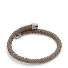 Scores Knurling Leather Bracelet