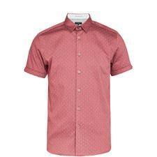 Franko Printed Textured Shirt