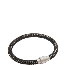Roland Woven Leather Bracelet