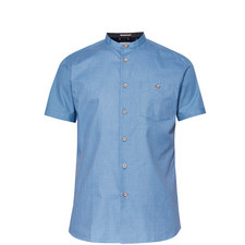 Gonky Grandad Collar Cotton Shirt