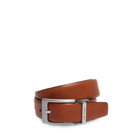 Karmer Reversible Leather Belt, ${color}