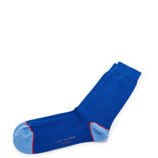 Jack Contrast Trim Cotton Socks