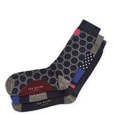 Chelsea 3-Pack Socks