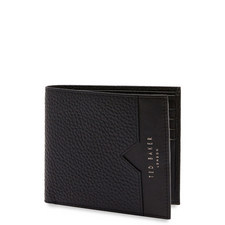 Looeze Pebble Leather Billfold Wallet