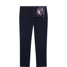 Lotsdot Slim Fit Pin Dot Trousers