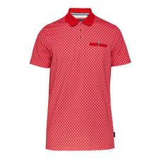 Waggi Herringbone Print Polo Shirt