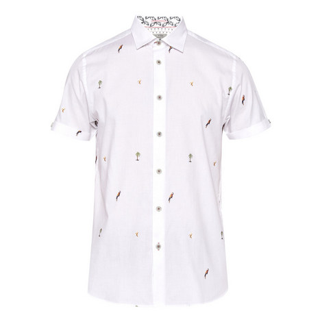 Parcoop Parrot Fil-coupé Shirt, ${color}