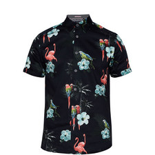 Chela Photographic Tropical Print Shirt
