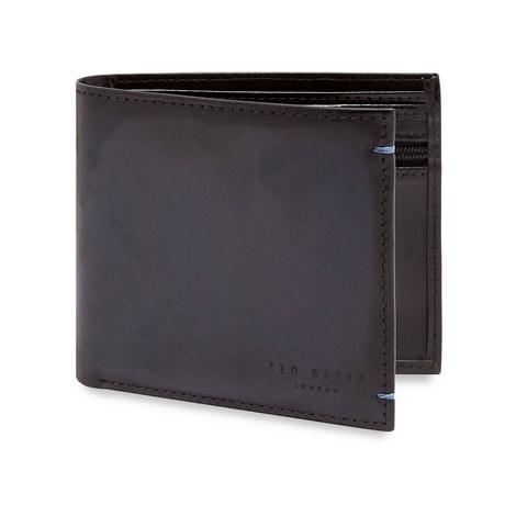 Geen Burnished Leather Bi-Fold Wallet, ${color}