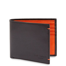 Logans Contrast Leather Bi-Fold Wallet