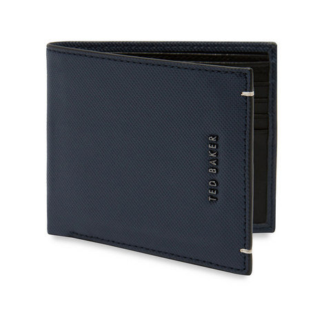 Stormz Perforated Leather Bi-Fold Wallet, ${color}