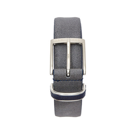 Carrilo Waxed Suede Belt, ${color}