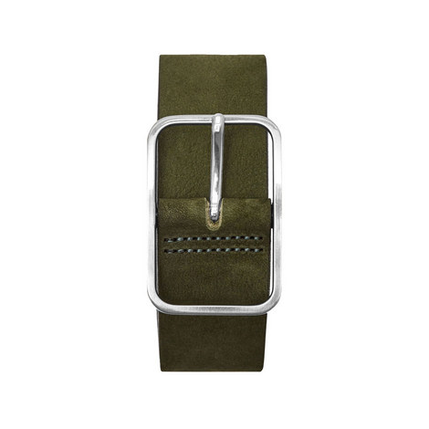 Escobar Nubuck Leather Belt, ${color}