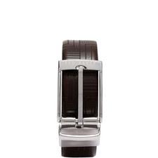 Havier Embossed Reversible Leather Belt