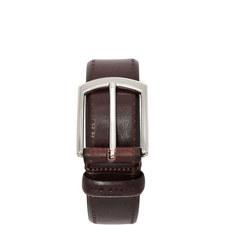 Lillies Burnished Leather Belt