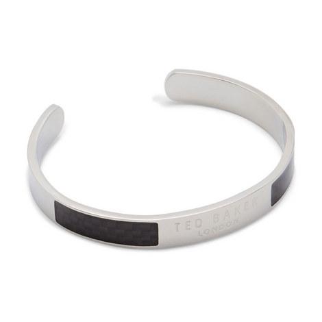 Ican Carbon Fibre Steel Bangle, ${color}