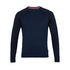 Cornfed Space Dye Crew Neck Jumper