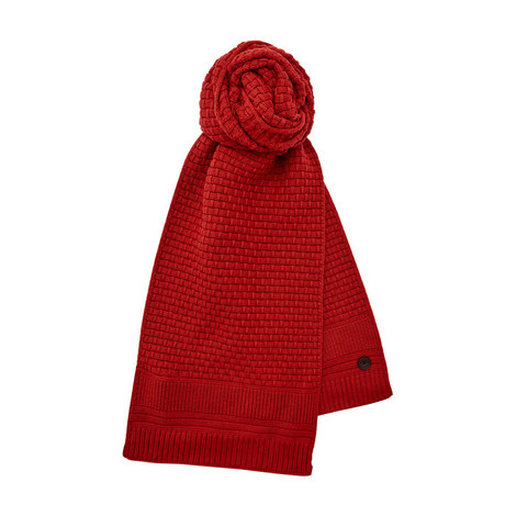 Auscarf Textured Knit Scarf, ${color}