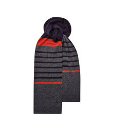 Redpost Striped Scarf