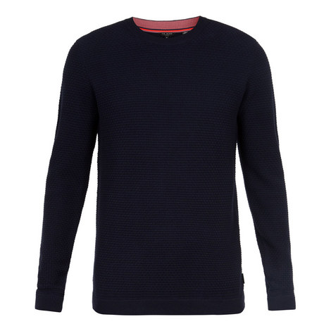 Percypi Textured Wool Jumper, ${color}