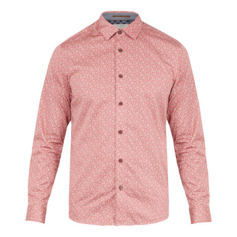 Thornto Floral Printed Shirt, ${color}