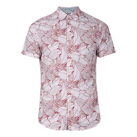 Whittle Leaf Printed Shirt, ${color}